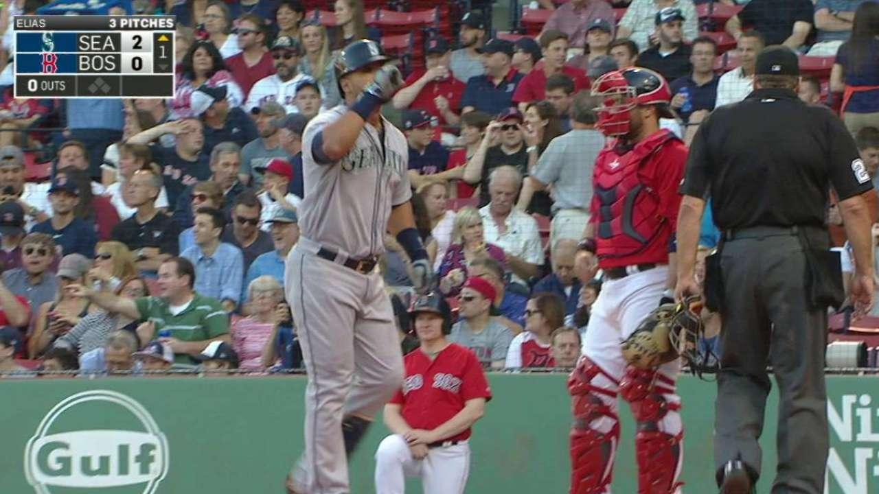Gutiérrez remolca 6 y Marineros triunfan en Boston