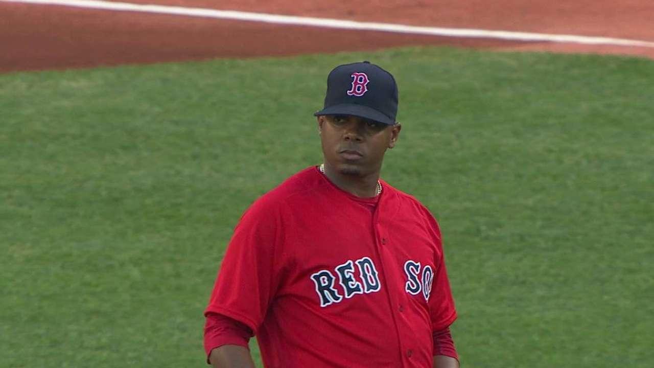 Sox summon Elias, option Brentz to Triple-A