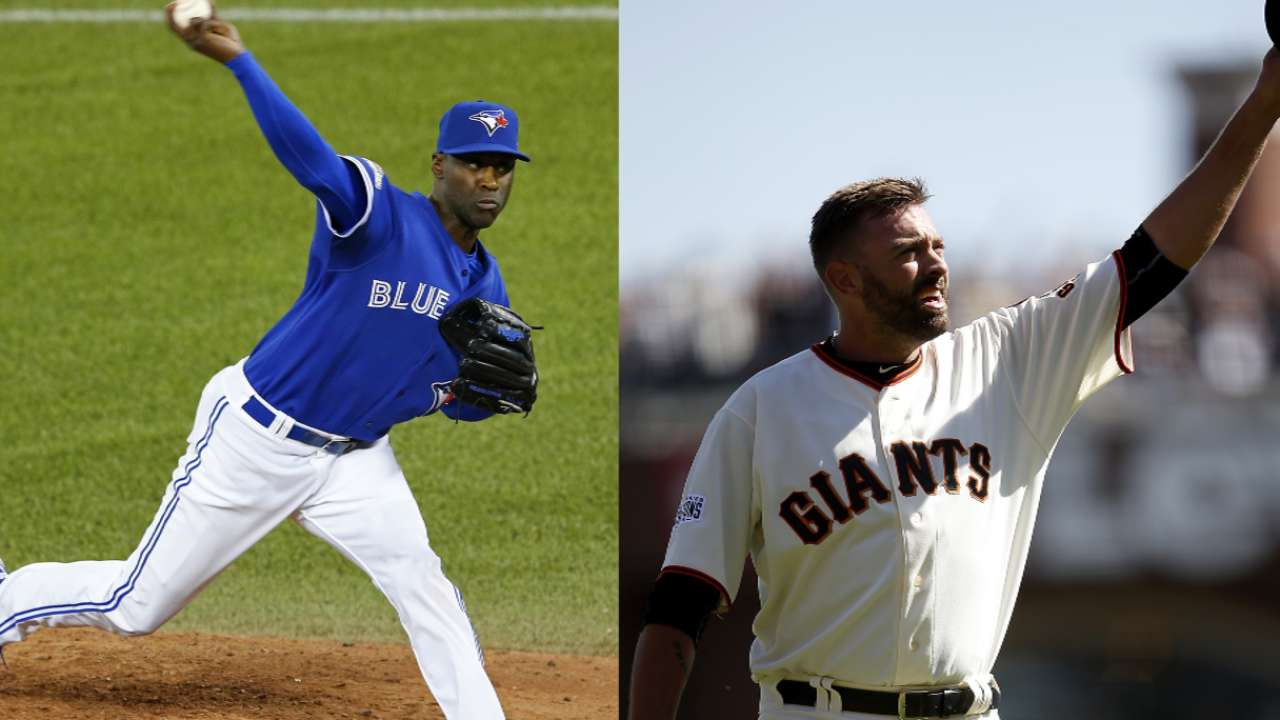 Former MLB stars relishing family time