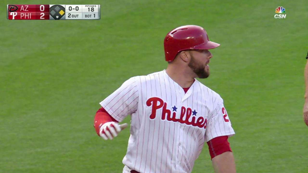 Homers, errors trip up Phillies