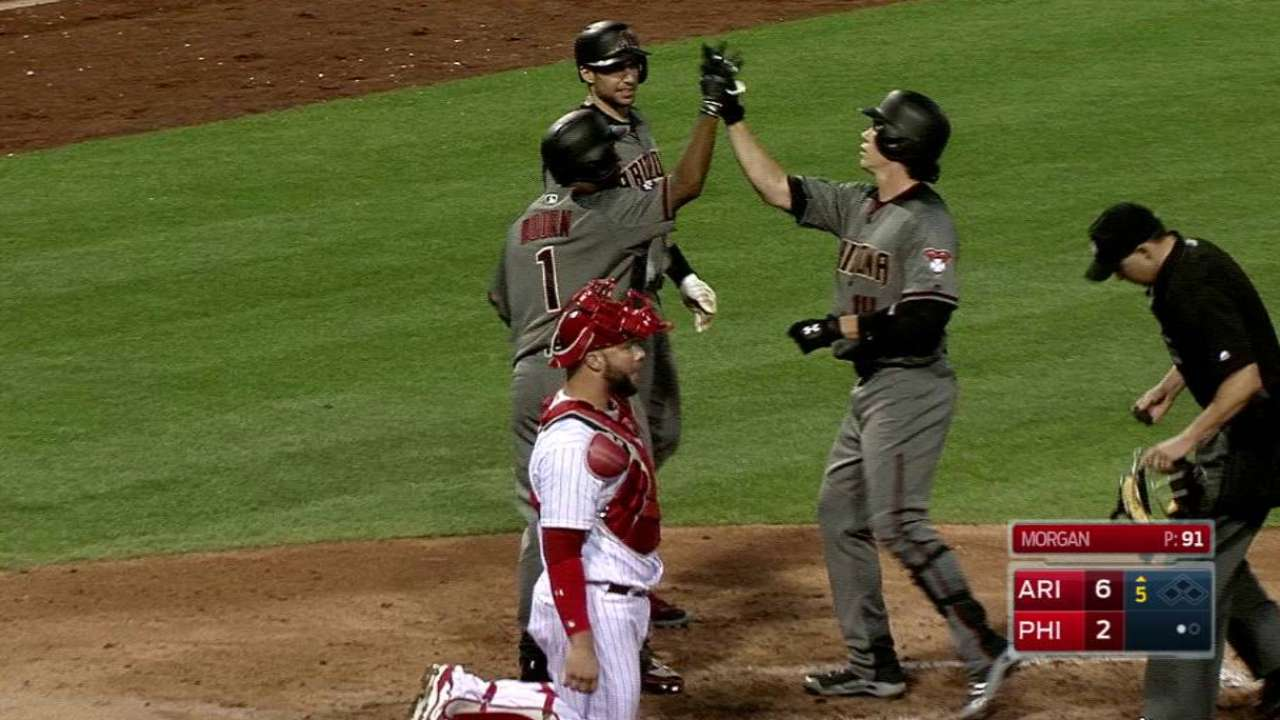 O'Brien displays power with two-homer game