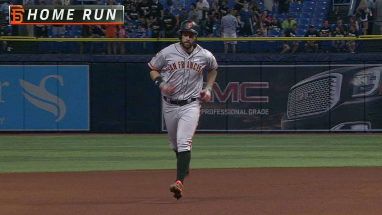 Giants' early runs plenty for sharp Shark vs. Rays