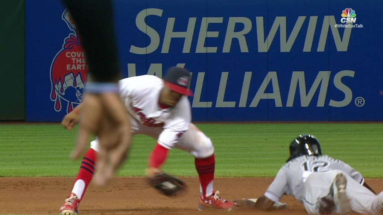 Anderson learning to hone basestealing skills