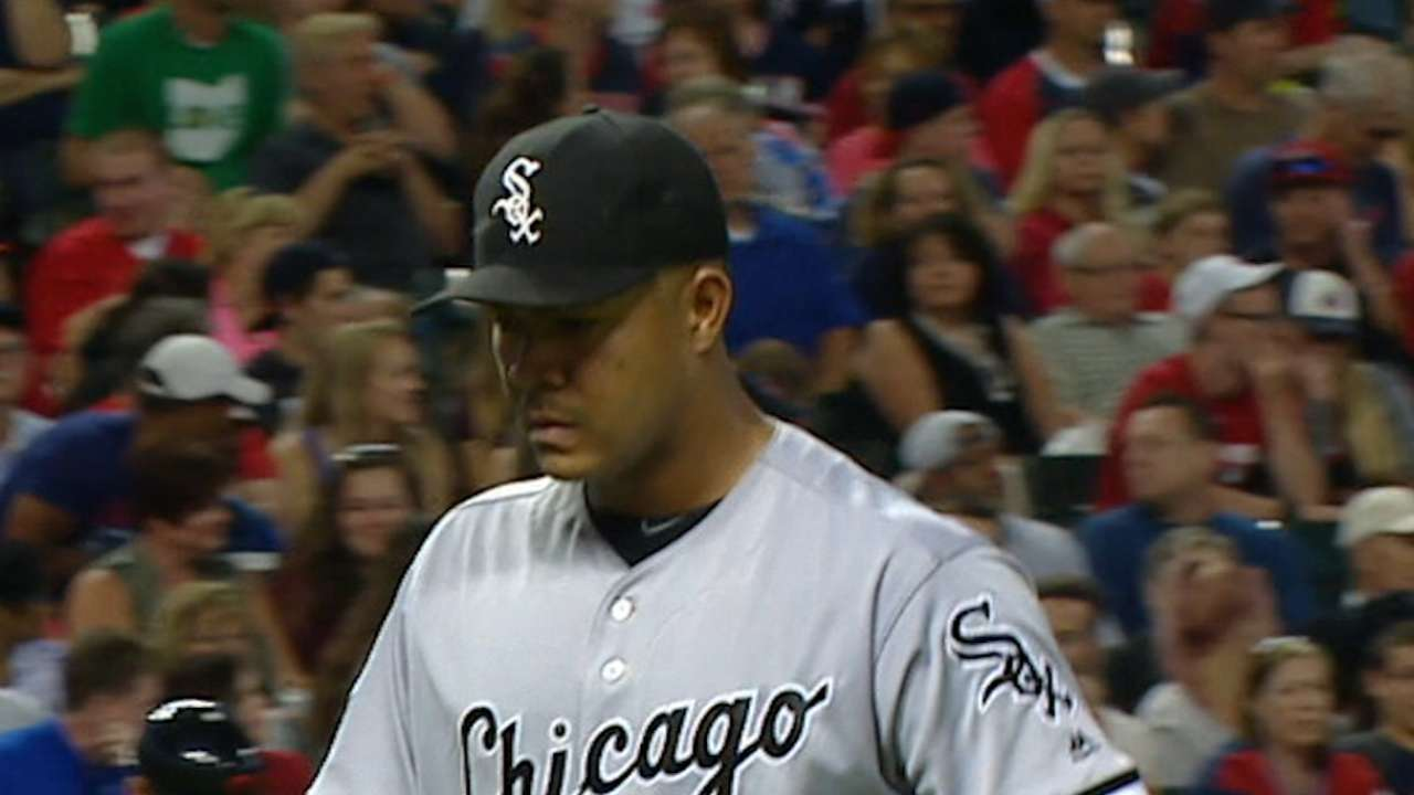 Quintana strikes out six