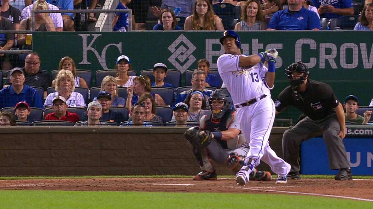 Salvy's blast kicks Royals' offense into gear