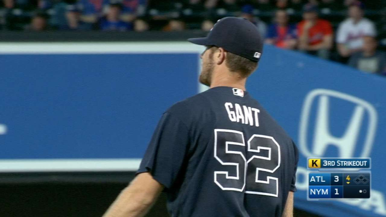 Gant touch this: Rookie earns first MLB win