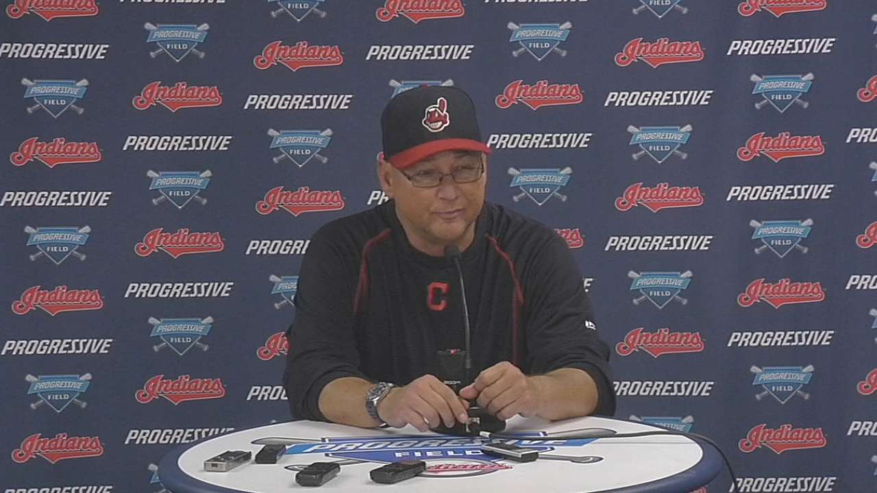 Francona on close game victory