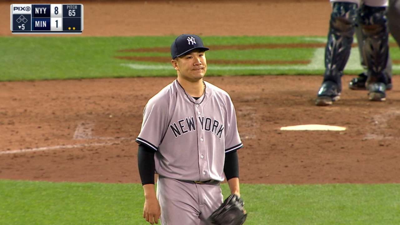 Road warrior(s): Tanaka cruises with support