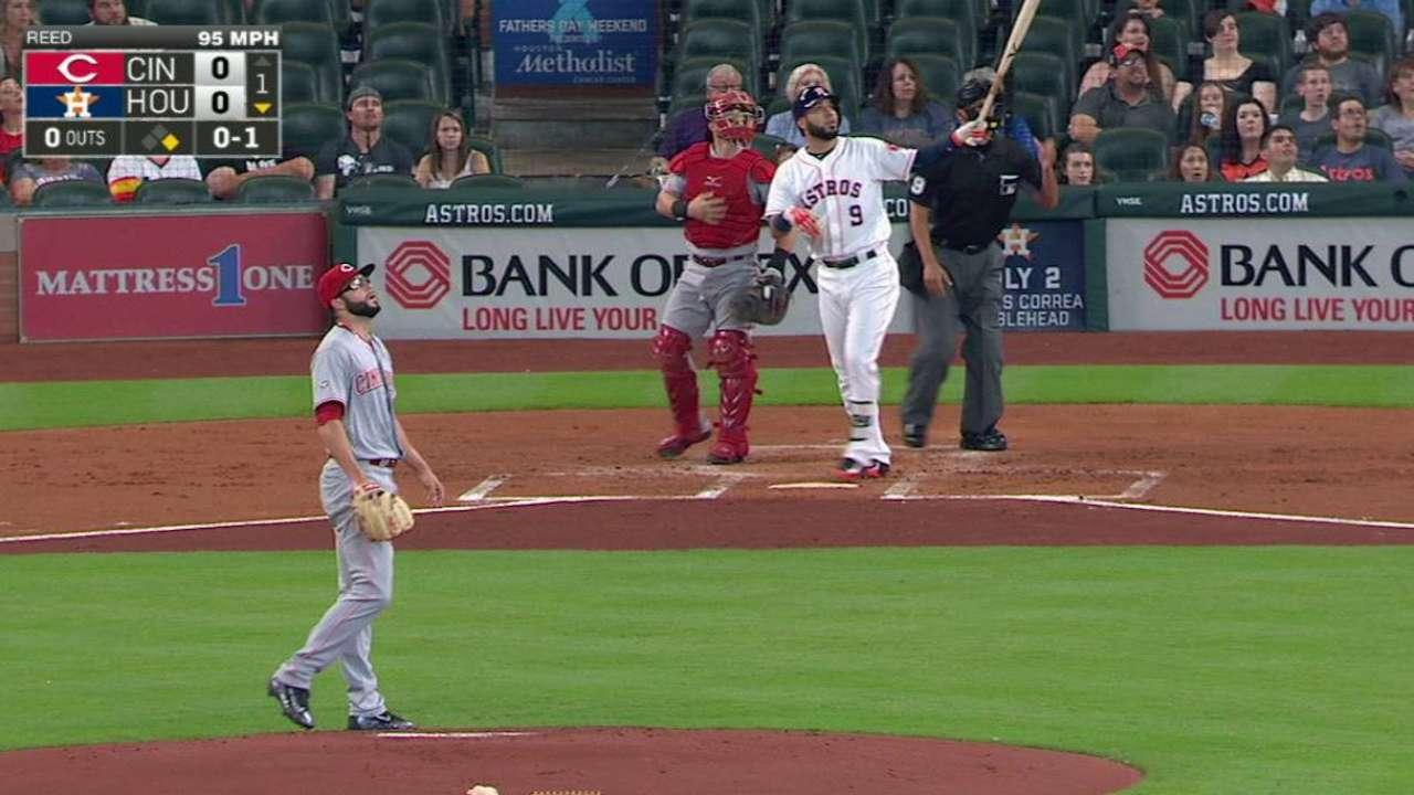 Gonzalez's two-run homer