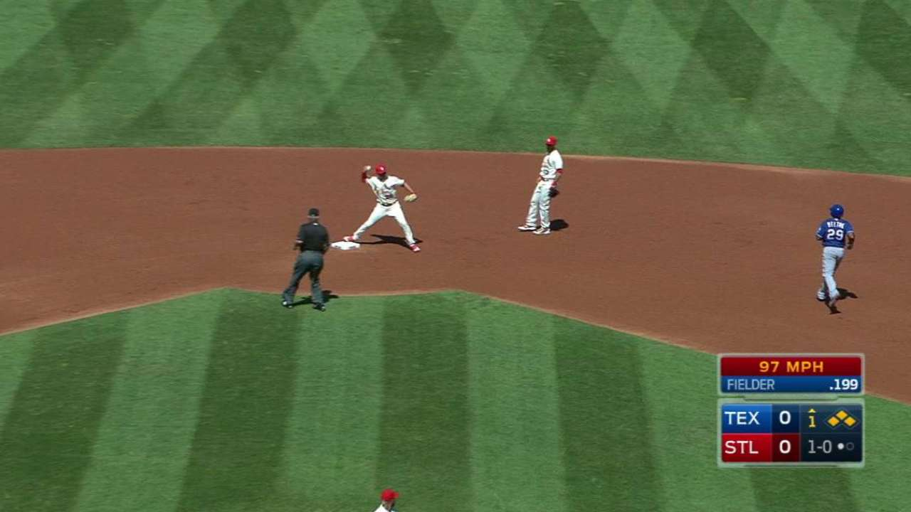 Martinez escapes jam in 1st