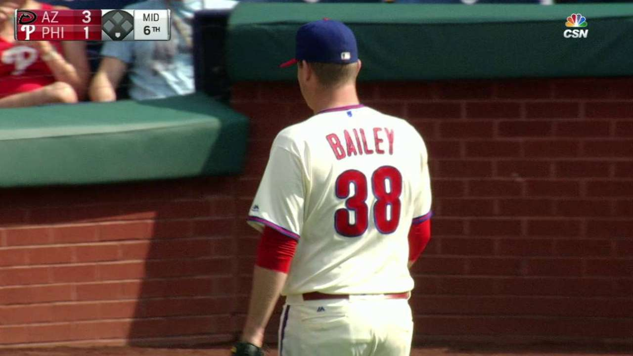 Bailey escapes bases-loaded jam
