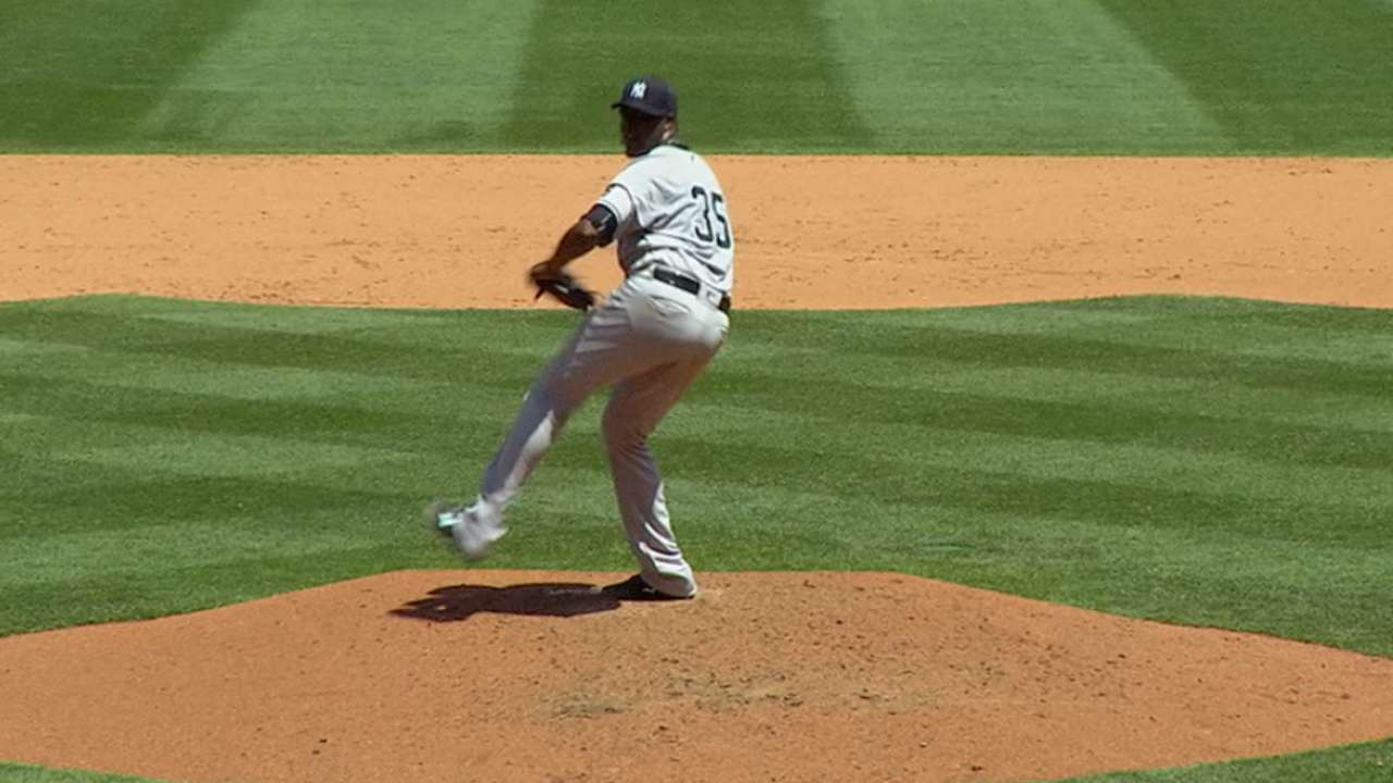 Pineda strikes out nine