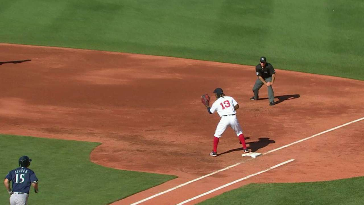 Porcello escapes jam