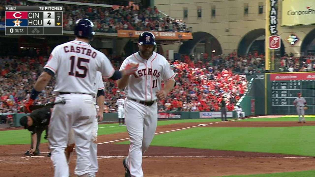 Gattis' go-ahead two-run homer