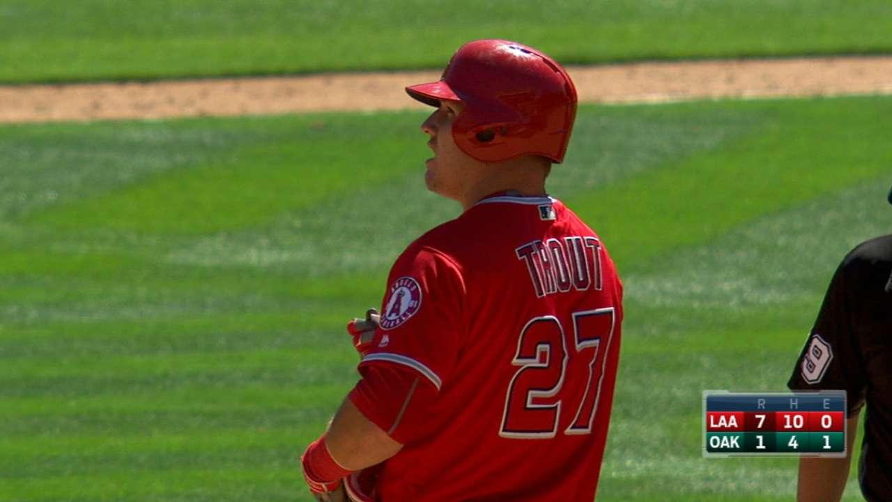Angels' five-run 6th inning