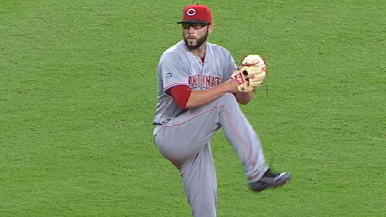 Reed's impressive MLB debut