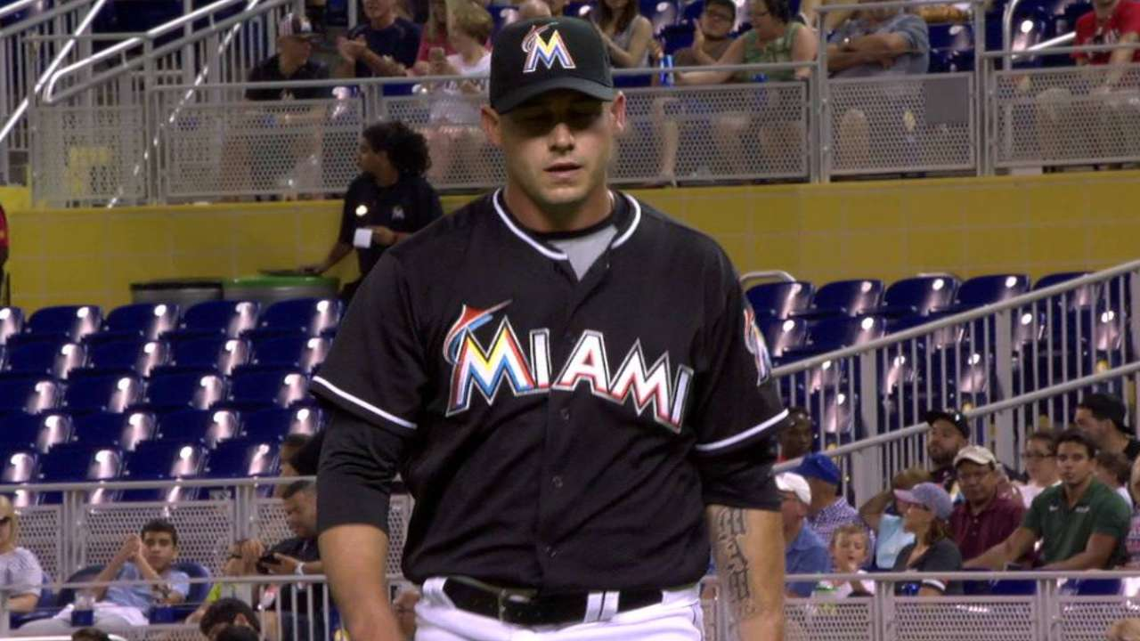McGowan holds down fort as Marlins rally