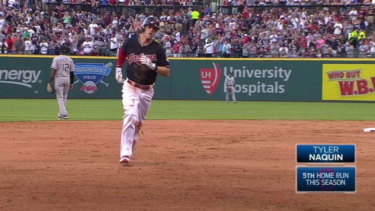 Naquin's solo home run