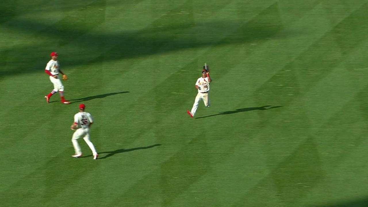 Wong's running catch