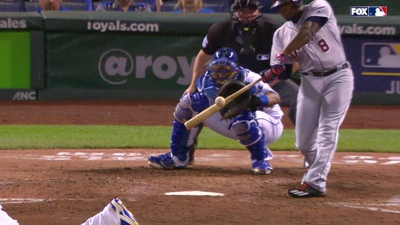 Upton's two-run home run
