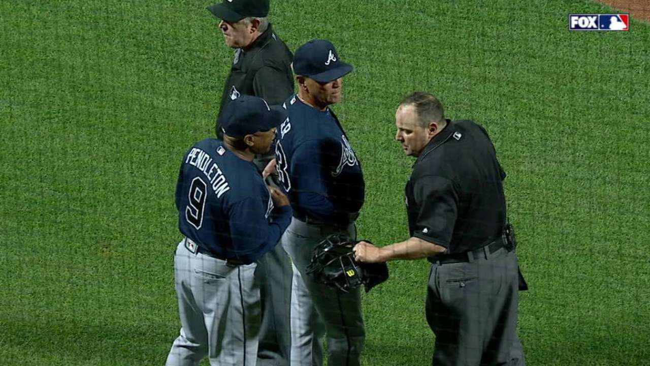 Pendleton gets ejected