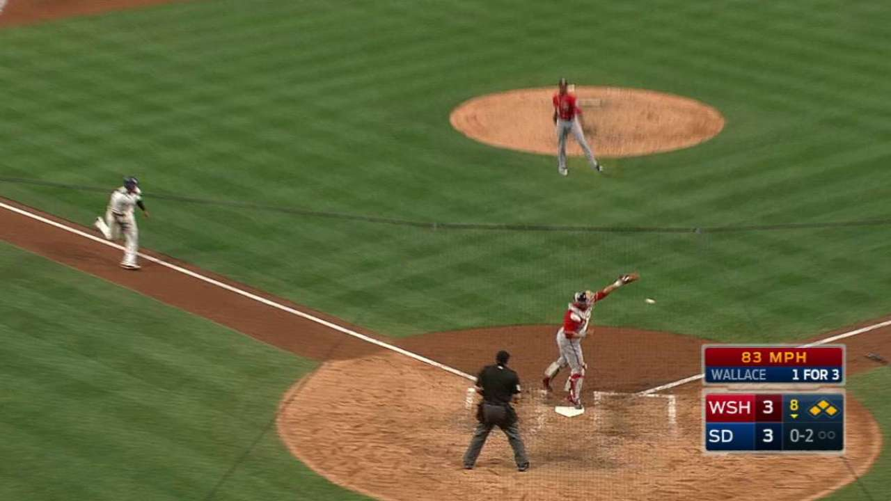 Rivero's struggles resurface in loss to Padres