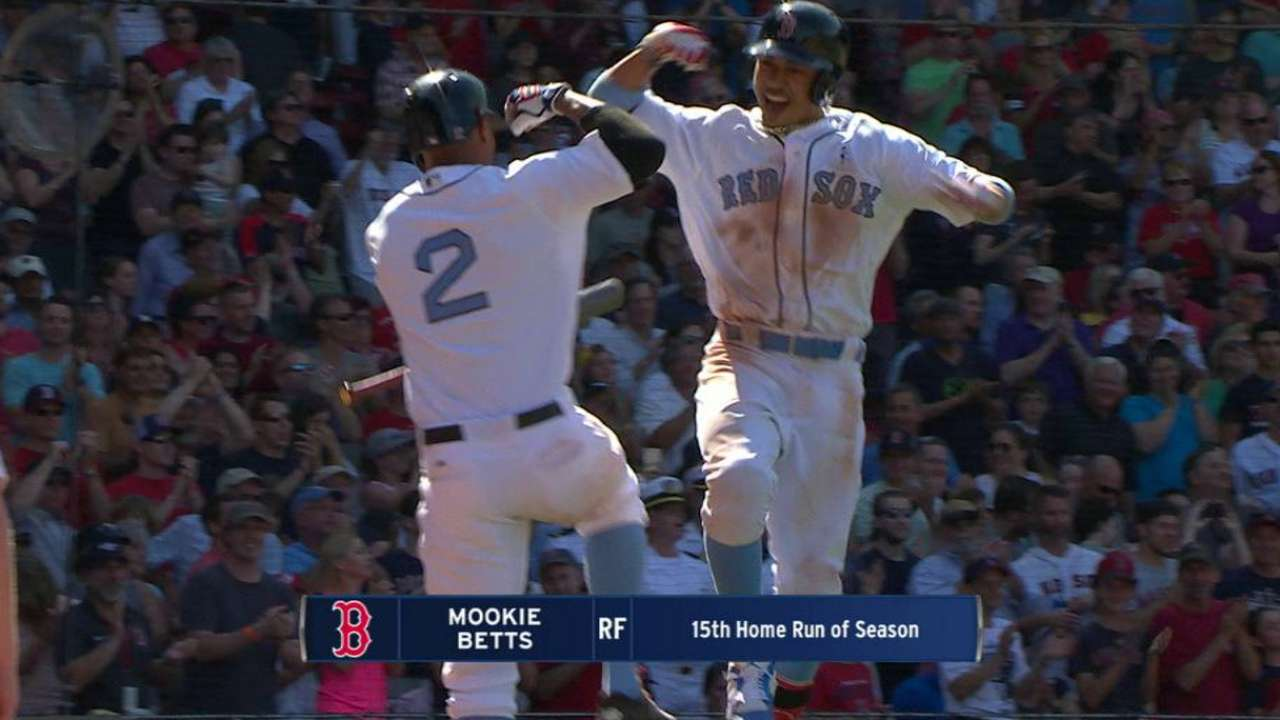 Betts' go-ahead home run