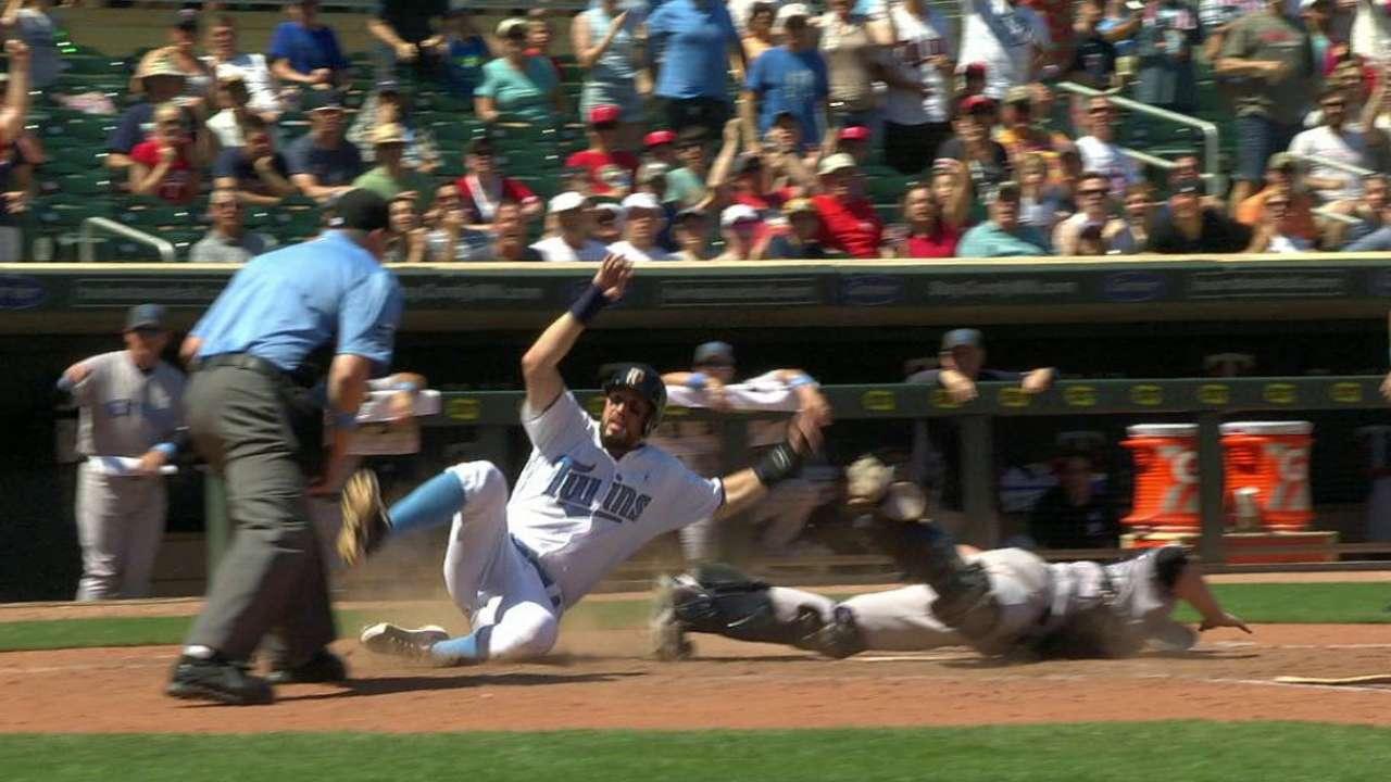 Twins slide past McCann to thwart Yankees