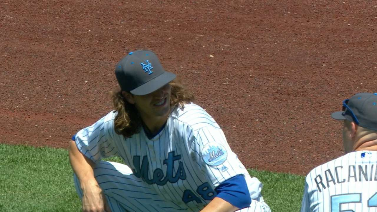 Summer heat: deGrom, Bumgarner on MLB.TV