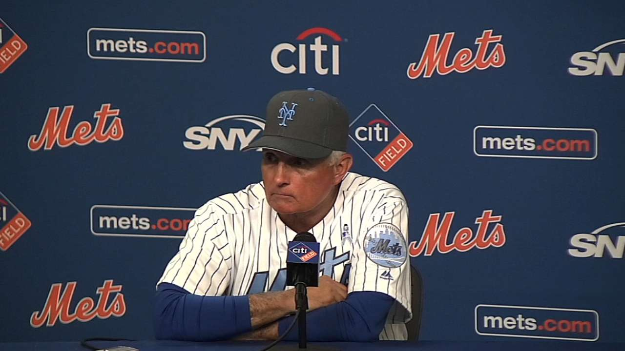 Collins on 6-0 loss to Braves
