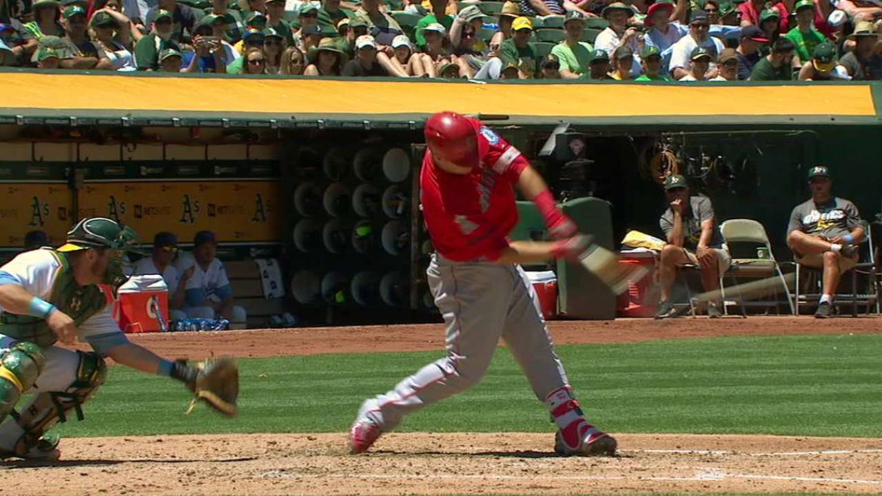 Trout helps BTS leader inch toward grand prize