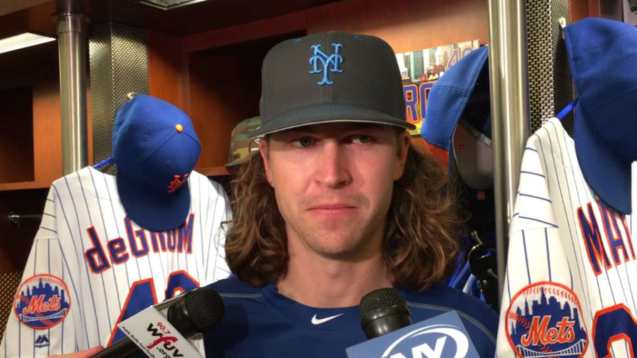 deGrom on loss to Braves