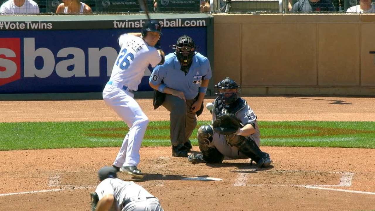 Kepler's three-hit game