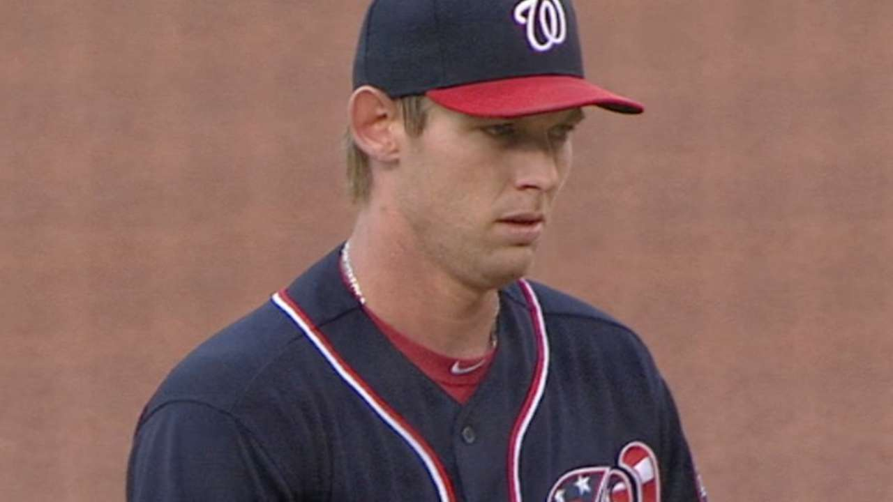 Nats outslug Phils as Strasburg rolls to 10-0
