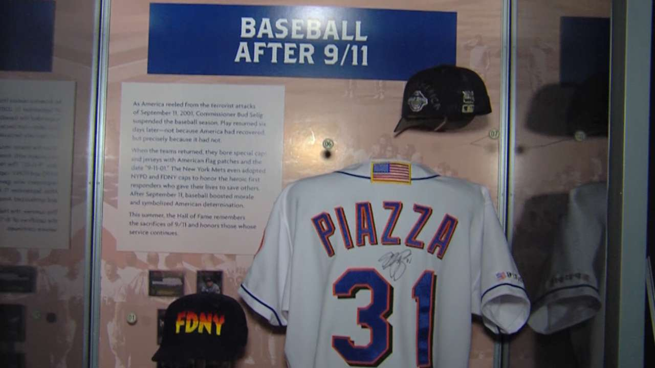 HOF to open 9/11 exhibit