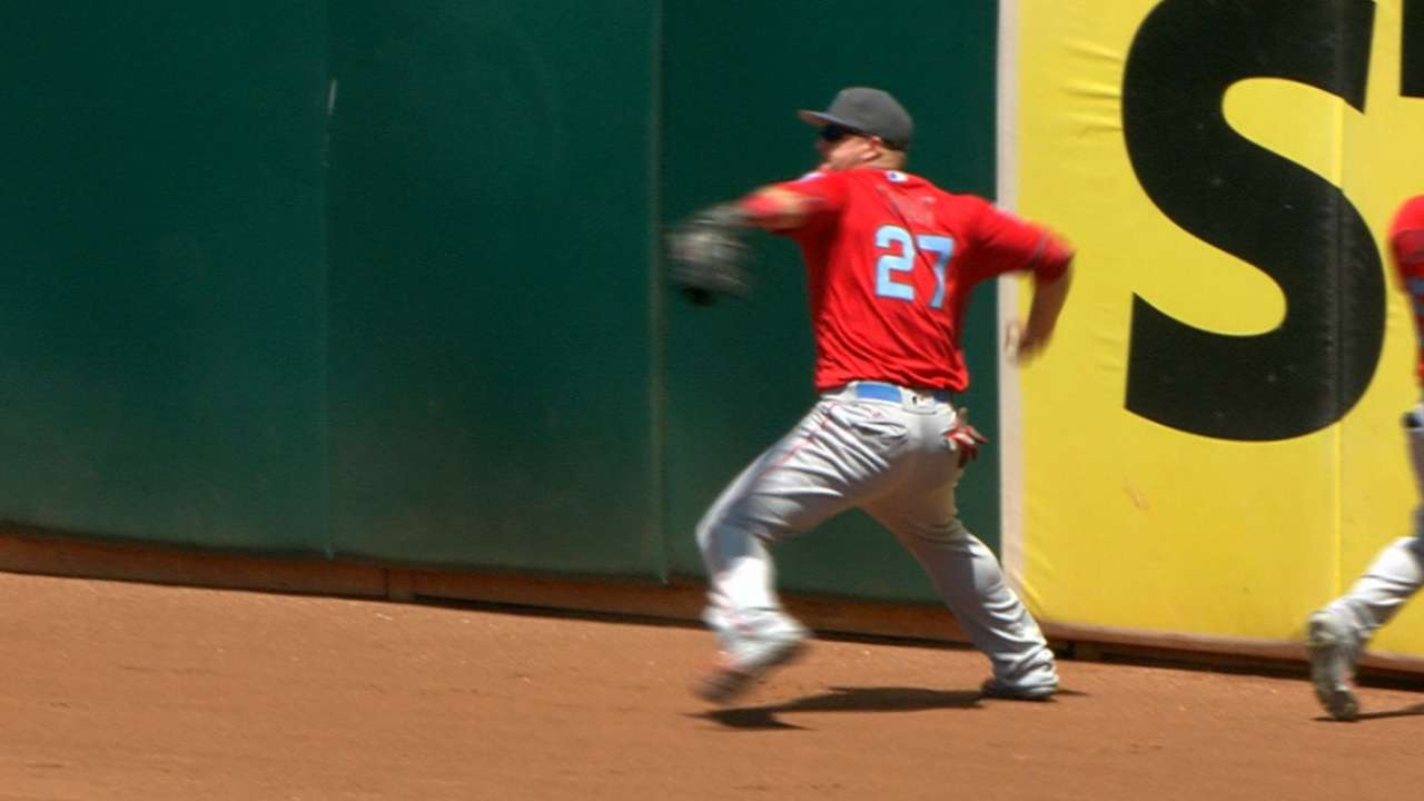 Trout widens lead in All-Star Game voting