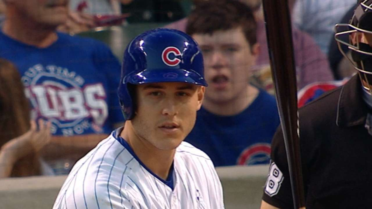 Bryant, Rizzo go back-to-back