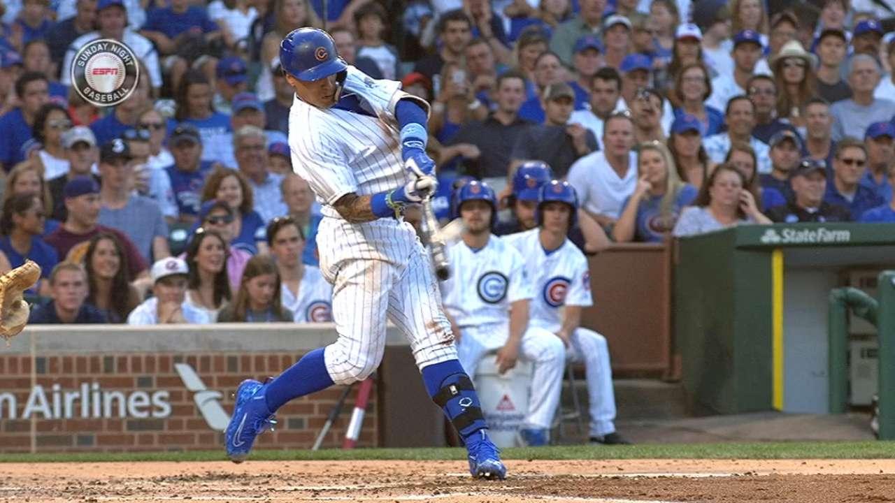 Cubs' five-homer game