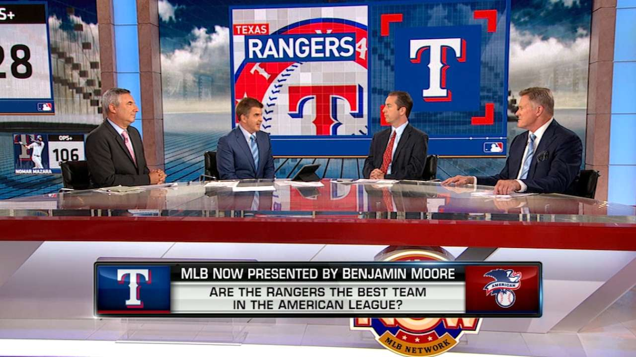 Are the Rangers the best in AL?