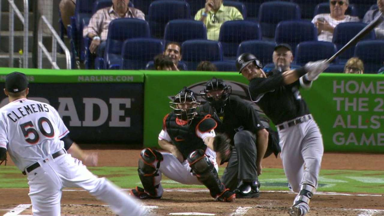 Story hits his 18th home run