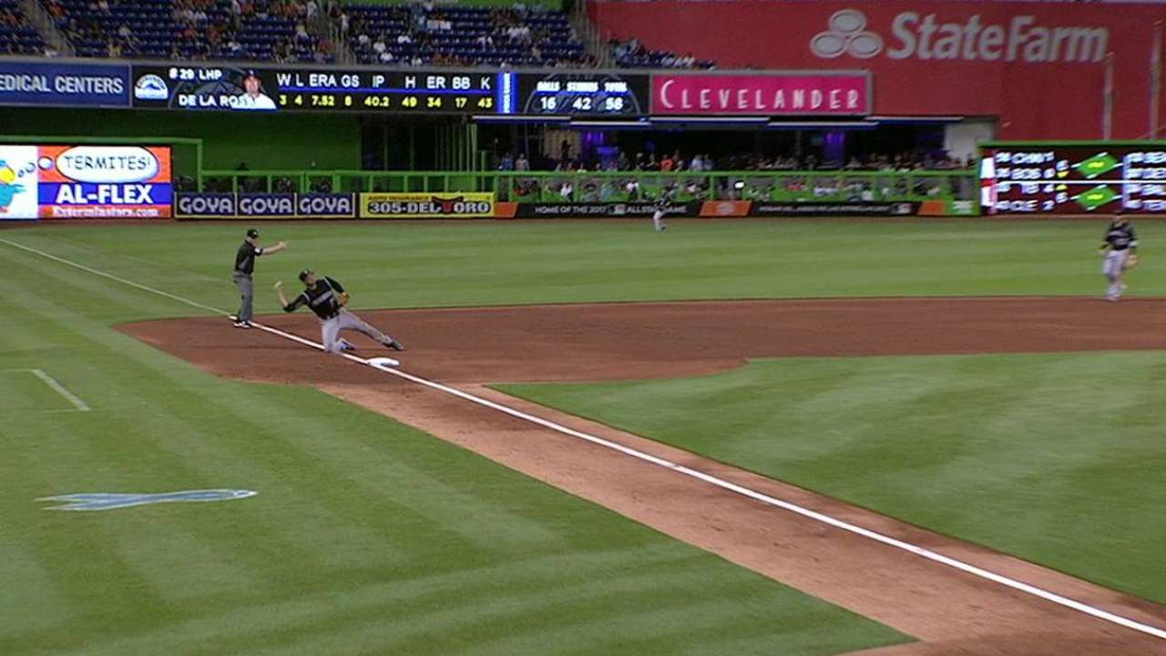 Arenado, CarGo and LeMahieu up for Gold Gloves
