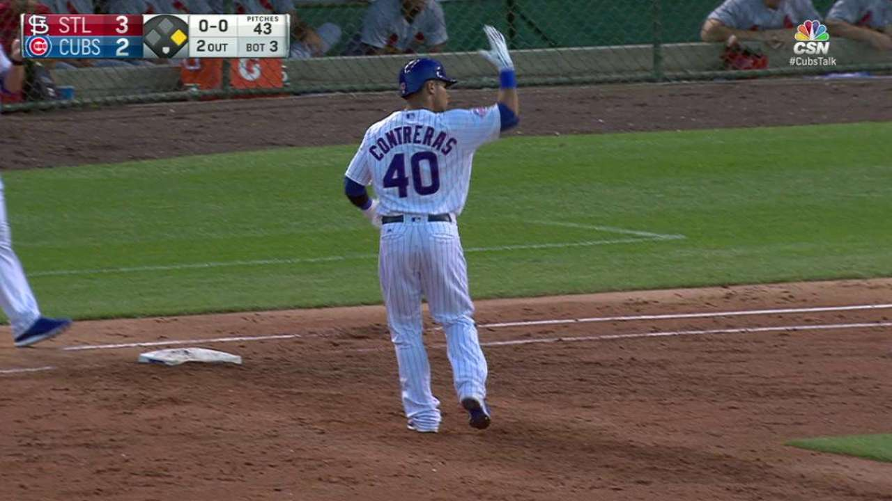 Contreras makes back-to-back starts