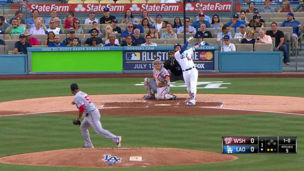 Turner's solo home run