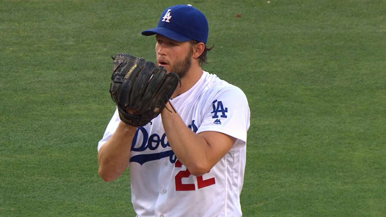 Kershaw strikes out eight in win