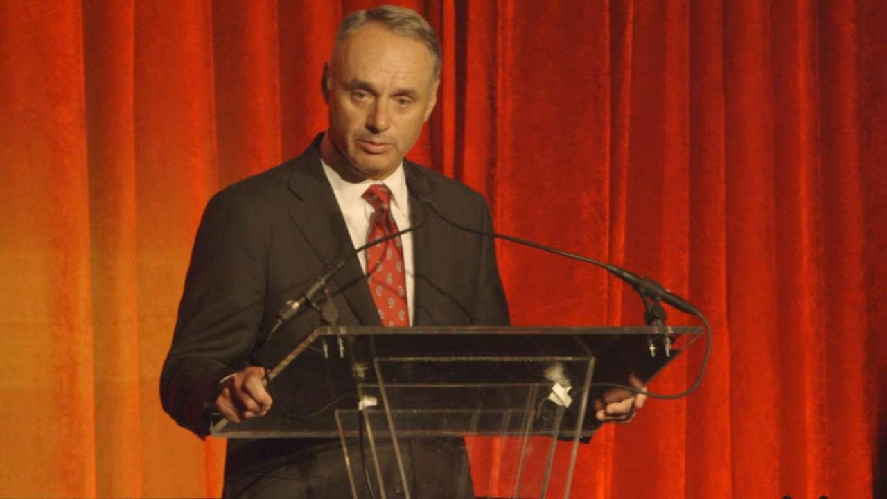 Manfred talks Harlem RBI Program