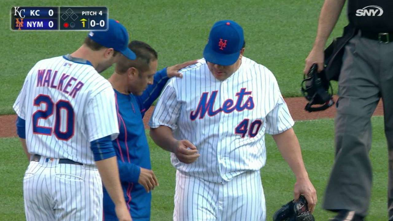 Mets Overcome Colon's Injury, Edge Royals 2-1 in WS Rematch