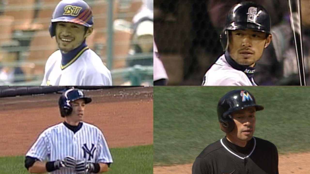 Ichiro's career milestones