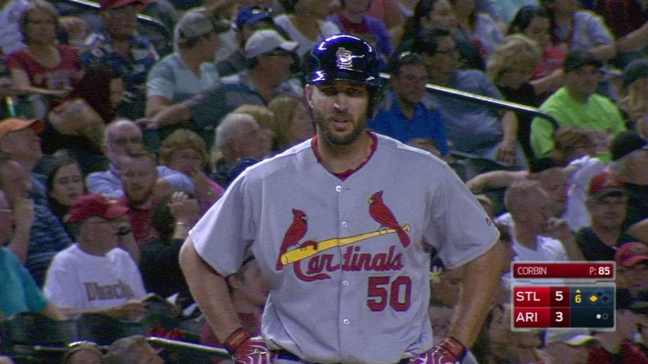Bat's the ticket: Waino lumbers up for 1st win