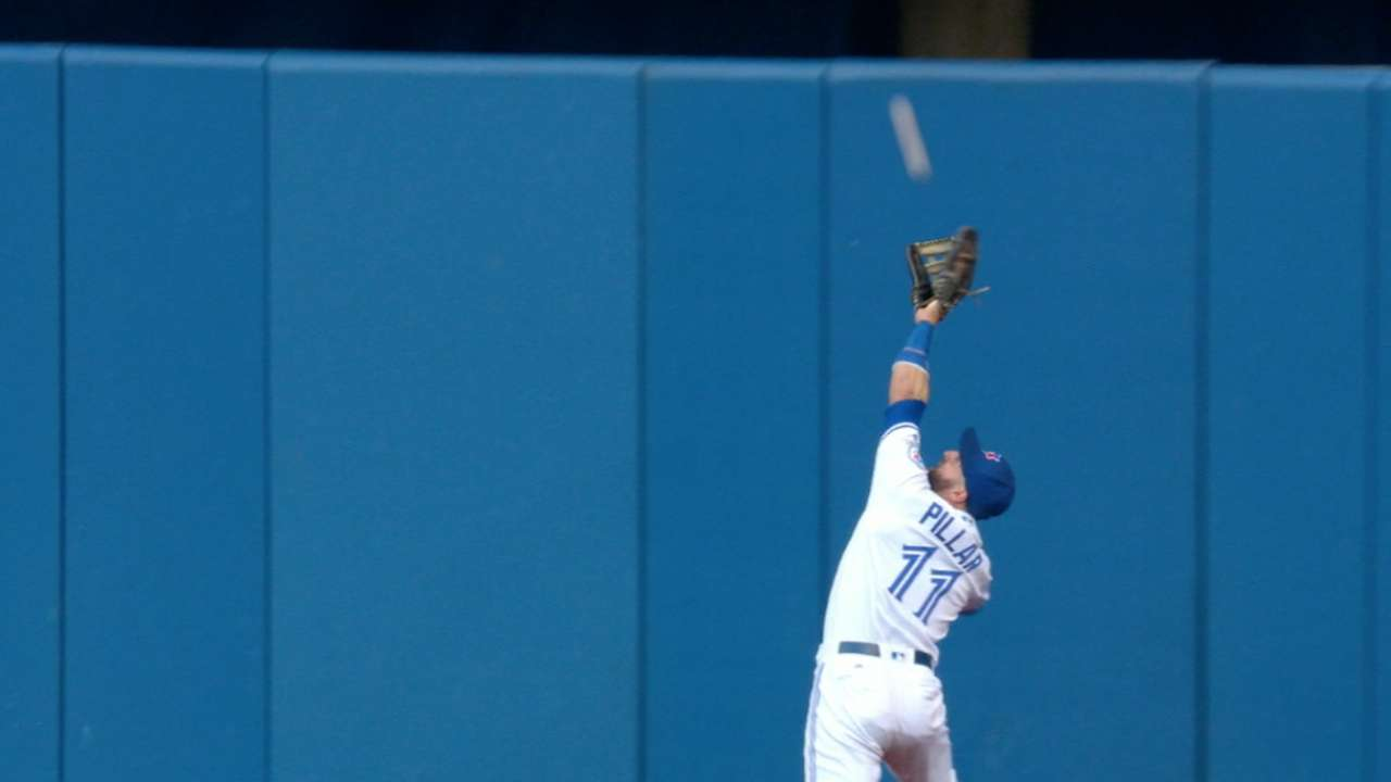 Pillar's pluck robs O'Brien of extra bases