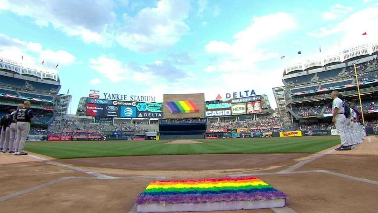 Yankees honor victims of Orlando shooting